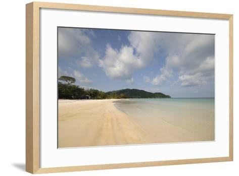 Vietnam. Beautiful Sand at Sao Beach, Phu Quoc, Kien Giang Province-Kevin Oke-Framed Art Print