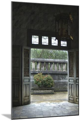 Vietnam. Doors Leading to a Patio, Khai Dinh Tomb, Hue, Thua Thien?Hue-Kevin Oke-Mounted Photographic Print