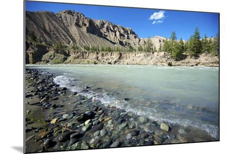 Nature Lanscape with Chilcotin River in Grasslands, Canada-Richard Wright-Mounted Photographic Print