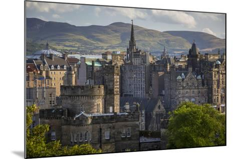 Old St Andrews House and Buildings of Edinburgh, Scotland-Brian Jannsen-Mounted Photographic Print