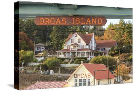 Orcas Hotel, Boutique Hotel on Orcas Island, San Juan Islands, Wa-Stuart Westmorland-Stretched Canvas Print