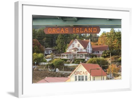 Orcas Hotel, Boutique Hotel on Orcas Island, San Juan Islands, Wa-Stuart Westmorland-Framed Art Print