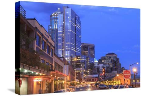 Pike Place Public Market Center, Seattle, Wa, USA-Stuart Westmorland-Stretched Canvas Print
