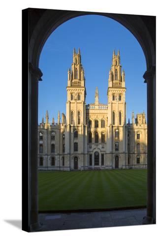 All Souls College, Oxford, Oxfordshire, England-Brian Jannsen-Stretched Canvas Print