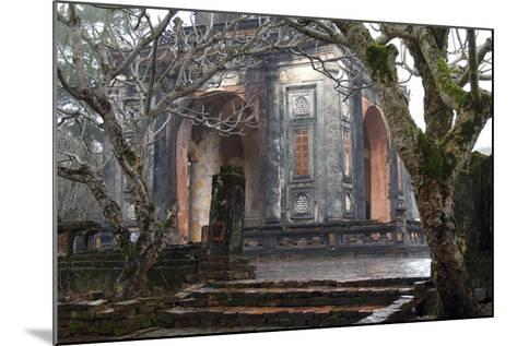 Asia, Vietnam. Stele Pavilion, Tu Ducs Tomb, Hue, Thua Thien?Hue-Kevin Oke-Mounted Photographic Print