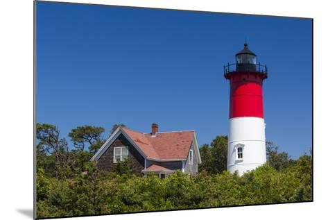 Massachusetts, Cape Cod, Eastham, Nauset Light, Lighthouse-Walter Bibikow-Mounted Photographic Print
