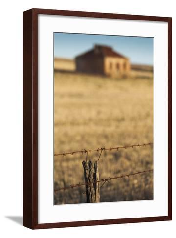 Australia, Burra, Former Copper Mining Town, Abandoned Homestead-Walter Bibikow-Framed Art Print