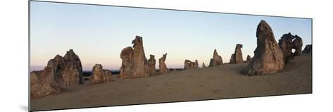 Australia, Cervantes, View of Pinnacle Desert in Nambung National Park at Sunrise-Paul Souders-Mounted Photographic Print