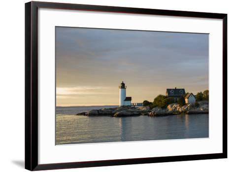Massachusetts, Gloucester, Annisquam, Annisquam Lighthouse-Walter Bibikow-Framed Art Print