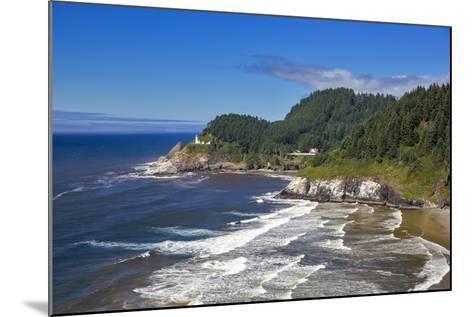 Heceta Head Lighthouse Near Florence, Oregon, USA-Chuck Haney-Mounted Photographic Print