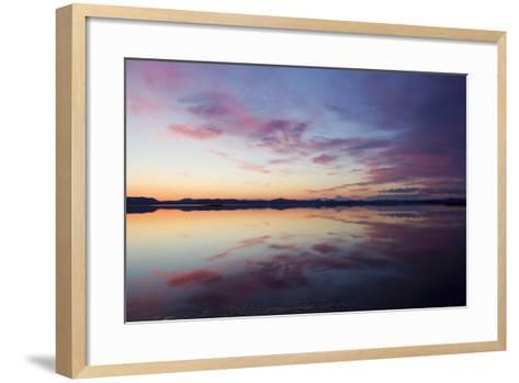 Seward Peninsula, Alaska, Safety Sound-Ken Archer-Framed Art Print