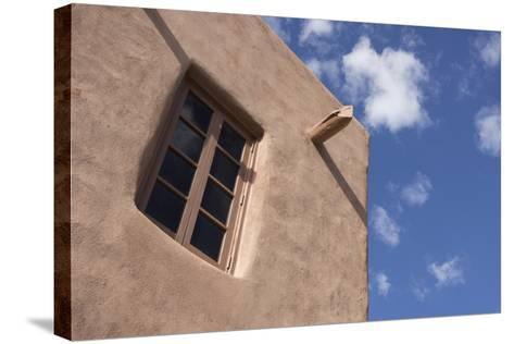 New Mexico, Santa Fe. Typical Southwestern Hispanic Style Architecture-Luc Novovitch-Stretched Canvas Print
