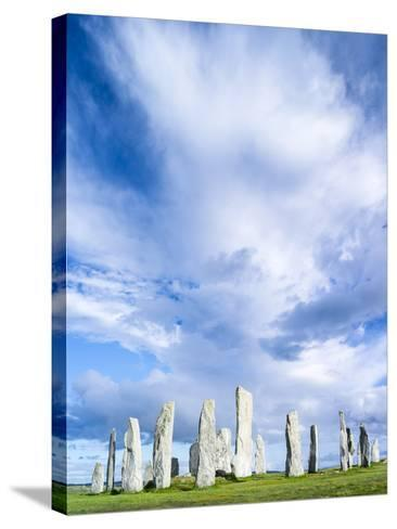 Standing Stones of Callanish, Isle of Lewis, Western Isles, Scotland-Martin Zwick-Stretched Canvas Print