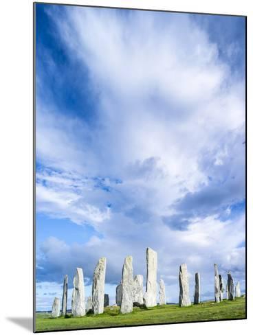 Standing Stones of Callanish, Isle of Lewis, Western Isles, Scotland-Martin Zwick-Mounted Photographic Print