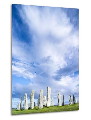 Standing Stones of Callanish, Isle of Lewis, Western Isles, Scotland-Martin Zwick-Metal Print