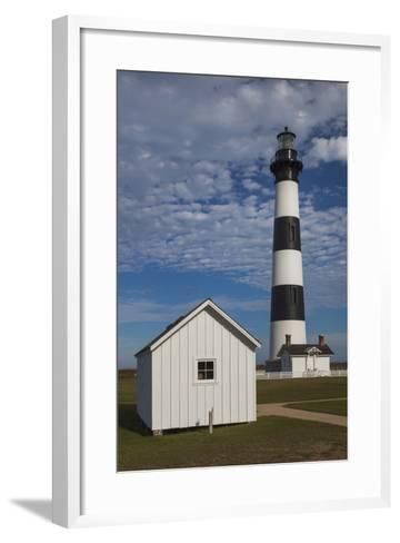 North Carolina, Outer Banks National Seashore, Bodie Island Lighthouse-Walter Bibikow-Framed Art Print