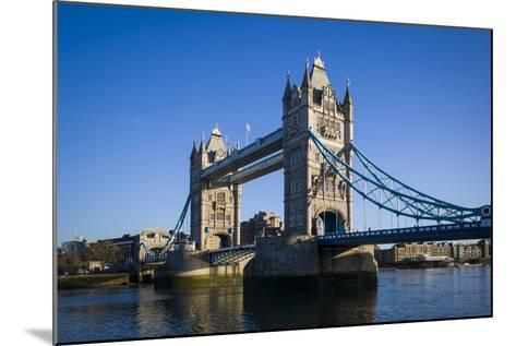 England, London, City, Tower Bridge, Morning-Walter Bibikow-Mounted Photographic Print