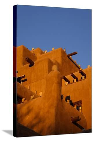 Inn at the Loretto, Santa Fe, New Mexico. USA-Julien McRoberts-Stretched Canvas Print