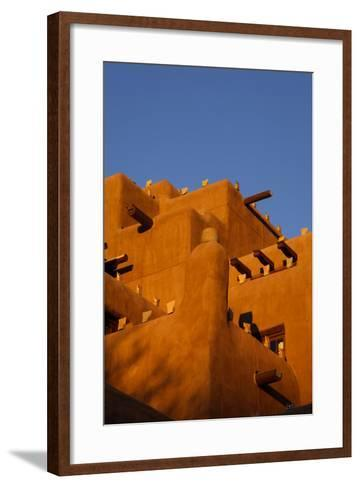 Inn at the Loretto, Santa Fe, New Mexico. USA-Julien McRoberts-Framed Art Print