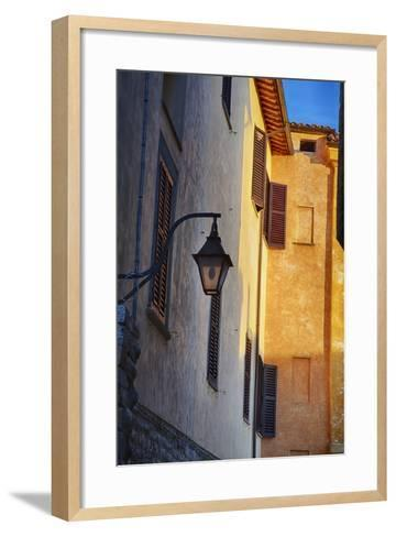 Building with Brick Architecture-Terry Eggers-Framed Art Print