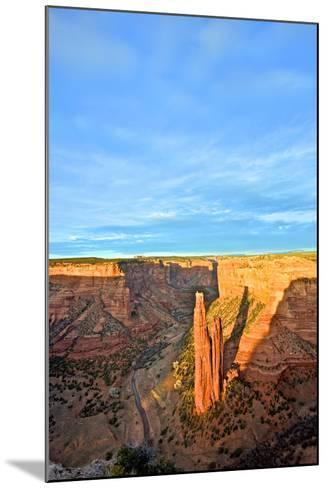 Spider Rock in Canyon De Chelly, Arizona-Richard Wright-Mounted Photographic Print