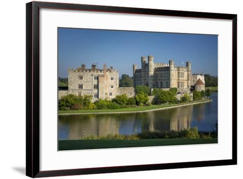Early Morning at Leeds Castle, Maidstone, Kent, England-Brian Jannsen-Framed Art Print