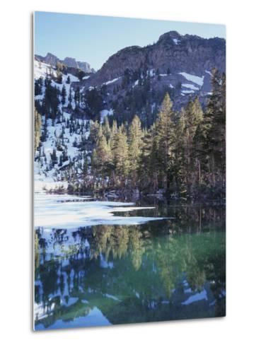 california sierra nevada inyo nf mammoth lakes frozen emerald