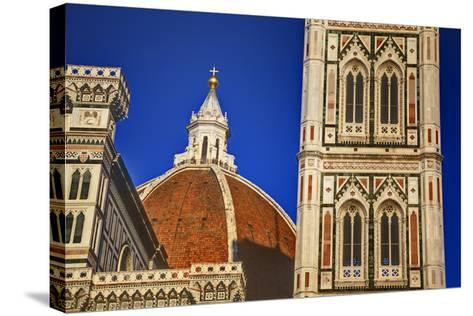 The Duomo of Florence with Evening Light-Terry Eggers-Stretched Canvas Print