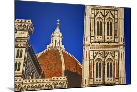 The Duomo of Florence with Evening Light-Terry Eggers-Mounted Photographic Print