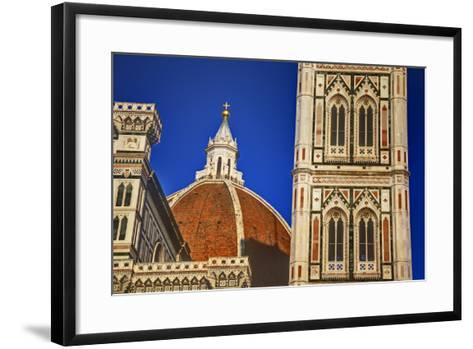 The Duomo of Florence with Evening Light-Terry Eggers-Framed Art Print