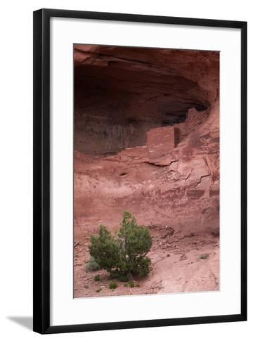 Navajo Nation, Monument Valley, Anasazi Cliff Dwelling, Mystery Valley-David Wall-Framed Art Print