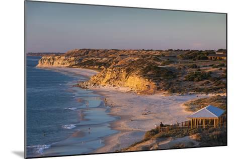 Australia, Fleurieu Peninsula, Port Willunga, Sunset-Walter Bibikow-Mounted Photographic Print