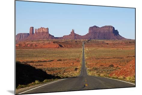 Utah, Navajo Nation, U.S. Route 163 Heading Towards Monument Valley-David Wall-Mounted Photographic Print