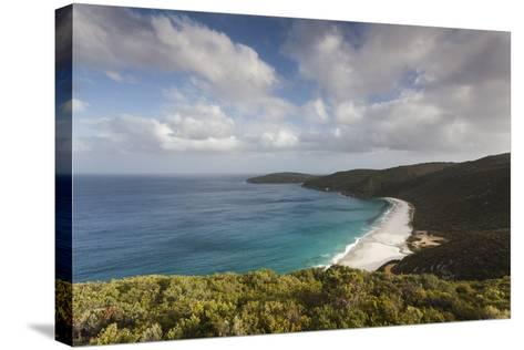 Southwest Australia, Denmark, Shelley Beach, Elevated View-Walter Bibikow-Stretched Canvas Print