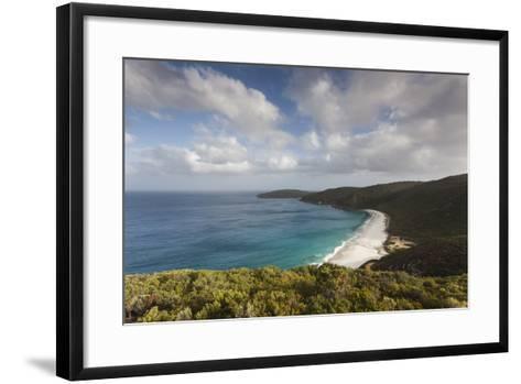 Southwest Australia, Denmark, Shelley Beach, Elevated View-Walter Bibikow-Framed Art Print