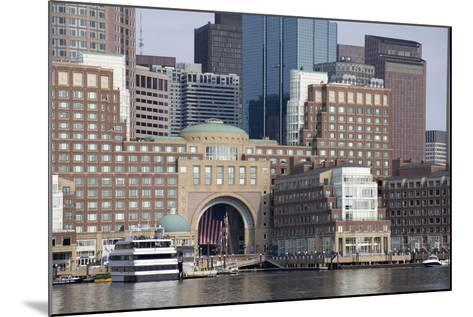 Massachusetts, Boston. Downtown City Skyline and Waterfront-Cindy Miller Hopkins-Mounted Photographic Print