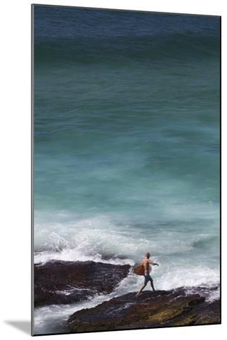 Australia, Sydney, Tamarama, Tamarama Bay-Walter Bibikow-Mounted Photographic Print