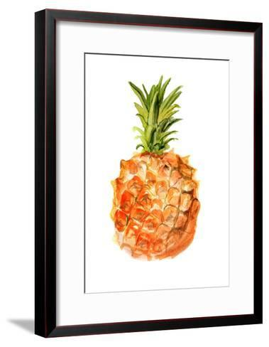 Pineapple-shoshina-Framed Art Print