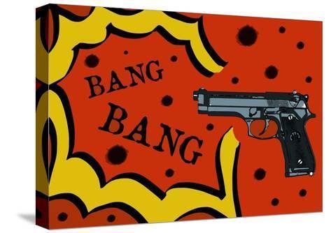 Bang Bang-Logan81-Stretched Canvas Print