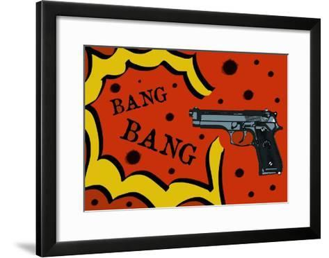 Bang Bang-Logan81-Framed Art Print