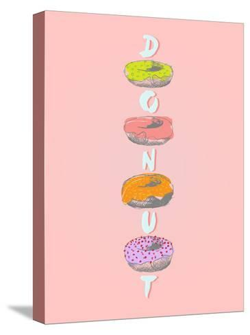 Donuts in Various Glaze Poster-ONiONAstudio-Stretched Canvas Print