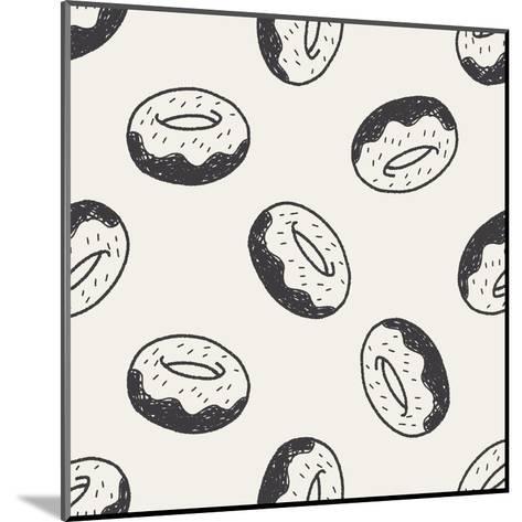 Doodle Donuts-hchjjl-Mounted Art Print