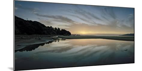A Sunrise at Ohki Beach That Resembles a Rorschach Test-Macduff Everton-Mounted Photographic Print