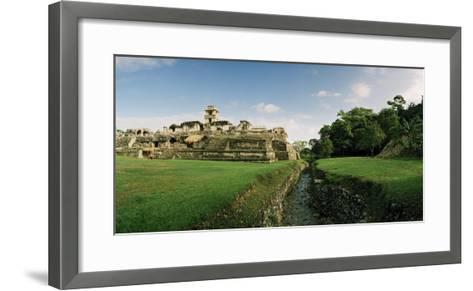 Rio Otolum Running Through an Aqueduct and Past the East Side of the Palace Complex-Macduff Everton-Framed Art Print