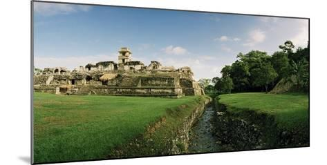 Rio Otolum Running Through an Aqueduct and Past the East Side of the Palace Complex-Macduff Everton-Mounted Photographic Print