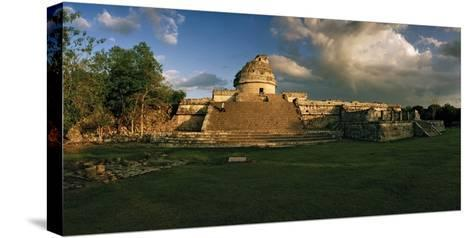 A Twilight View of El Caracol, also known as the Observatory-Macduff Everton-Stretched Canvas Print