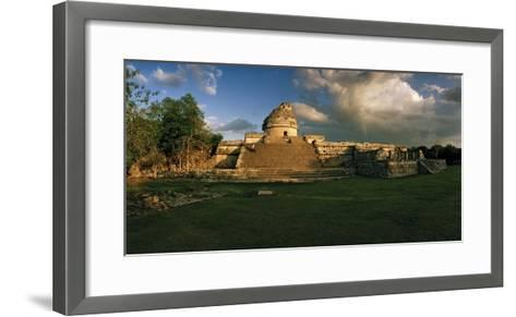 A Twilight View of El Caracol, also known as the Observatory-Macduff Everton-Framed Art Print