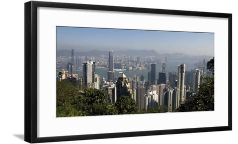 Hong Kong Cityscape; Hong Kong, China-Design Pics Inc-Framed Art Print