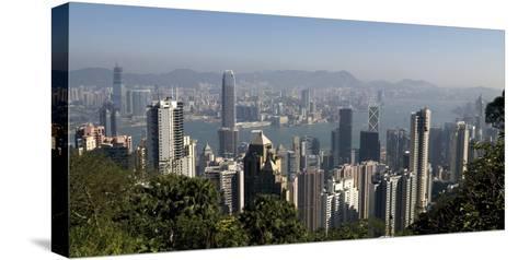 Hong Kong Cityscape; Hong Kong, China-Design Pics Inc-Stretched Canvas Print
