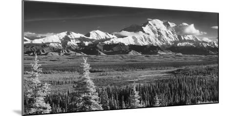 Infrared Panorama of Denali and the Alaska Range Taken from Near the Wonder Lake Campground-Design Pics Inc-Mounted Photographic Print